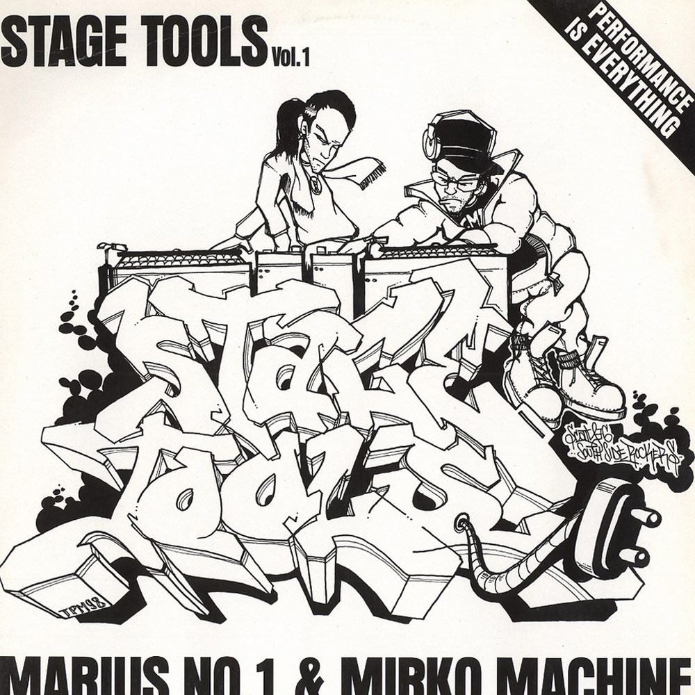 Stage Tools — DJ Marius No. 1 & DJ Mirko Machine Album