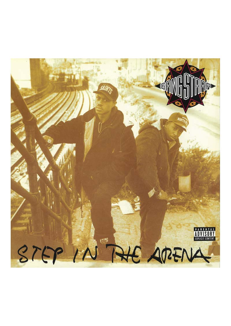 Gangstarr – Step In The Arena Album Cover
