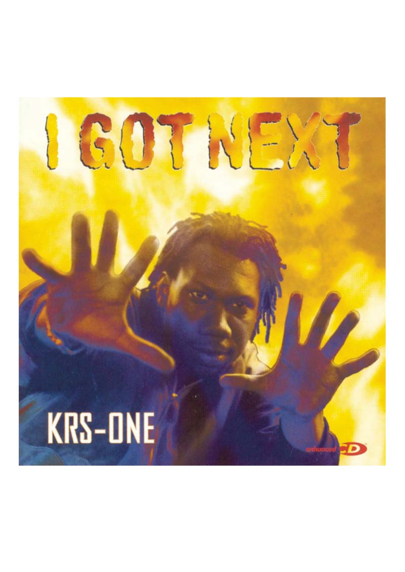 KRS-One – I Got Next Album Cover