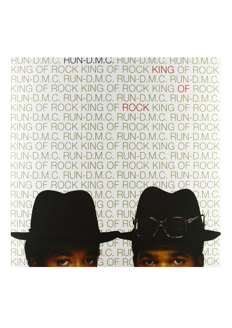 Run Dmc – King Of Rock Album Cover