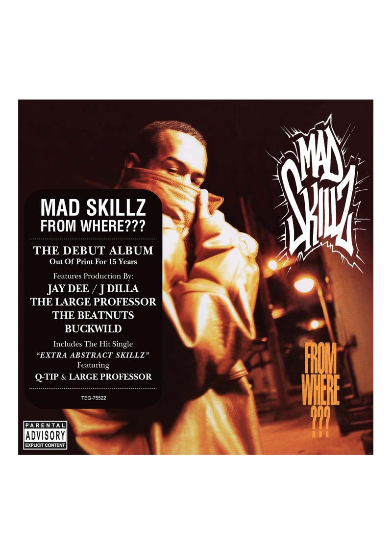 Mad Skillz – From Where? Album Cover