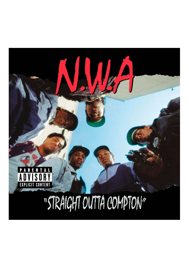 N.W.A. – Straight Outta Compton Album Cover