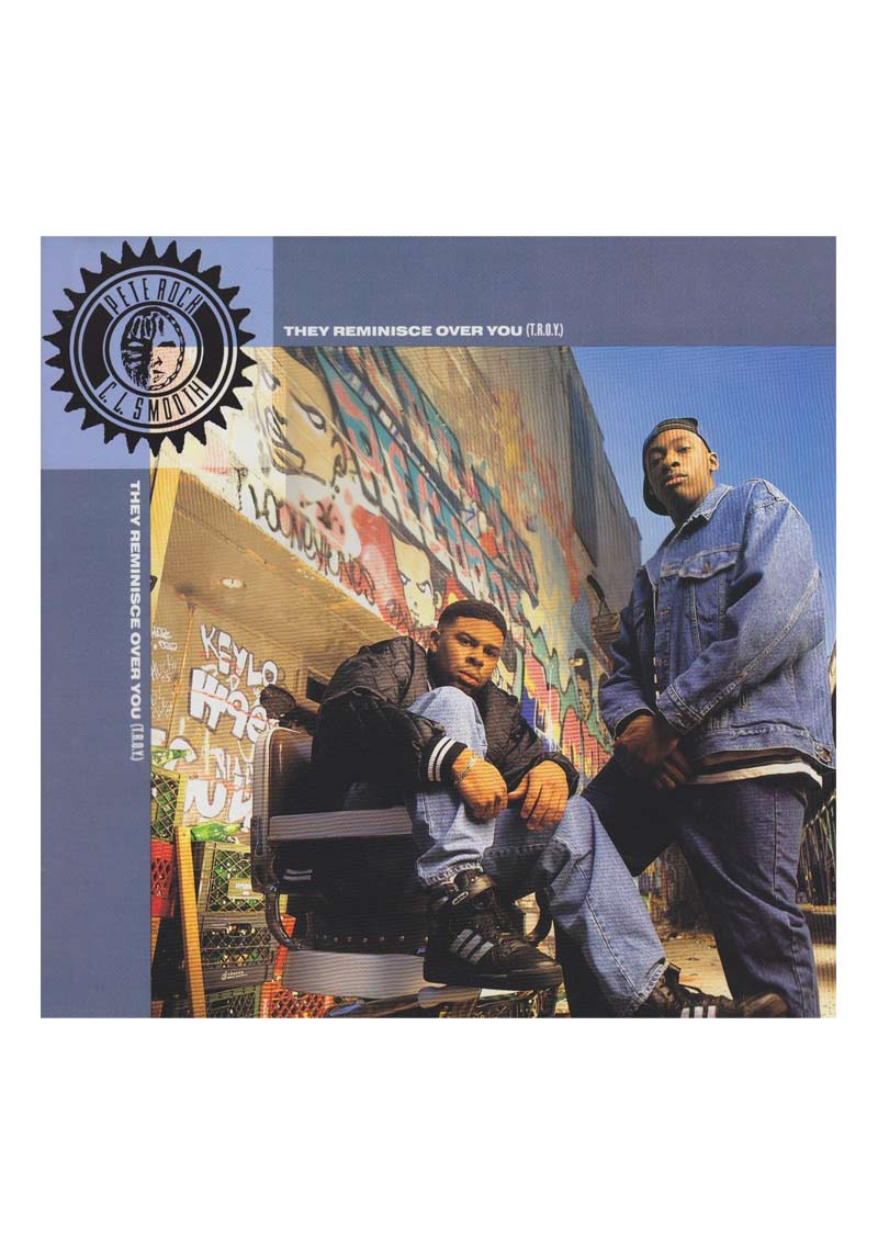 Pete Rock & CL Smooth – T.R.O.Y. Album Cover